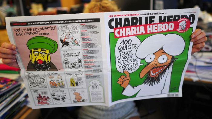 FRANCE-ISLAM-CARTOON-MEDIA
